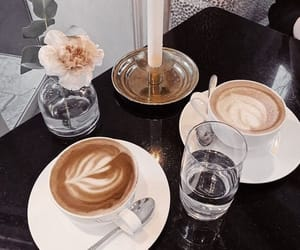 aesthetic, cafe, and caffeine image