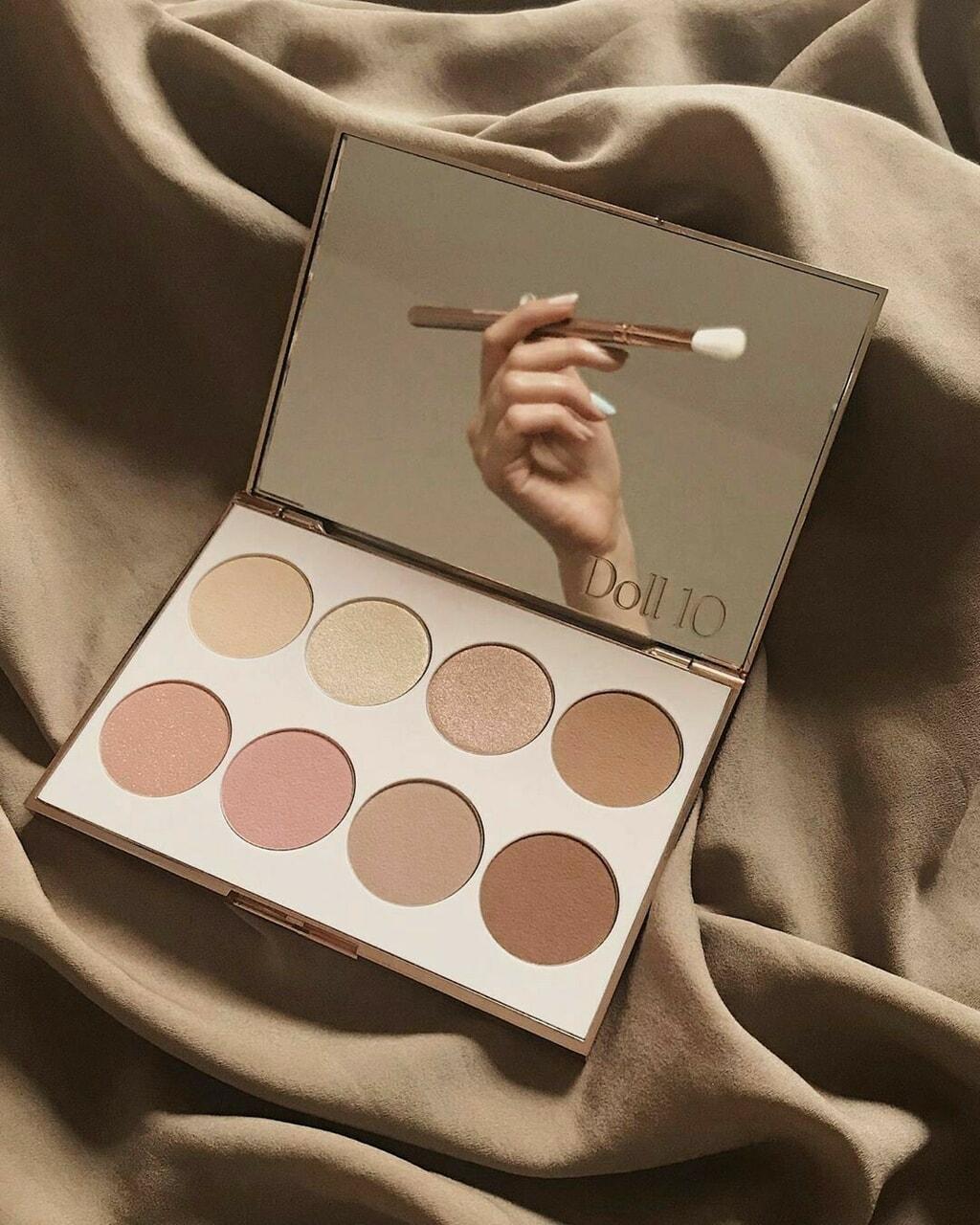 aesthetic, beige, and cosmetics image