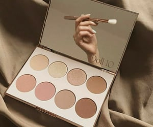 aesthetic, beige, and cosmetics image