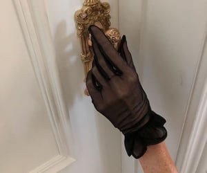 fashion, aesthetic, and gloves image