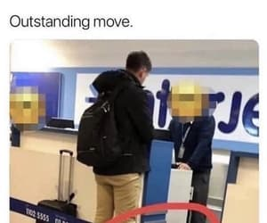 funny, luggage, and holiday image