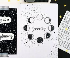 bullet journal, bullet journal ideas, and bujo inspiration image