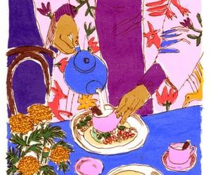 tea time, german illustrator, and karlotta freier image