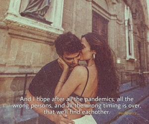 couples, pandemic, and poem image