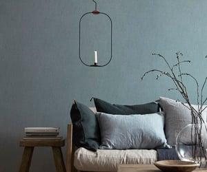 blue, home decor, and ideas image