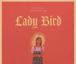 aesthetic, poster, and lady bird image