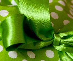 gift, green, and lime green image