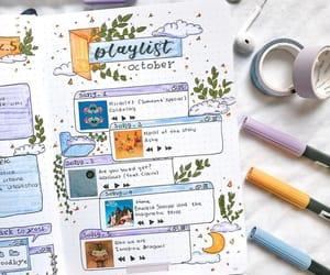 bullet journal, bullet journal ideas, and bujo spread image