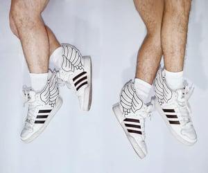 adidas, Jeremy Scott, and wings image