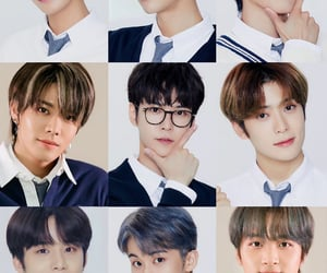 kpop, nct 127, and back to school image