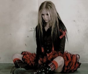aesthetic, Avril Lavigne, and music image