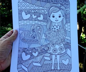 cute little girl, etsy, and guard your heart image