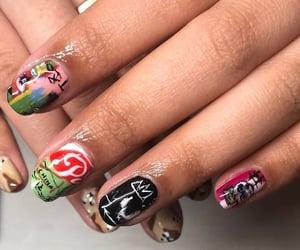 nails basquiat image