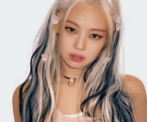 jennie, blackpink, and christina aguilera image