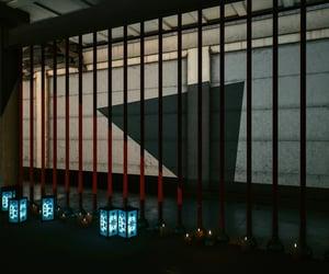 bars, cyberpunk, and dark image