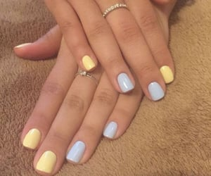 aesthetic, manicure, and nail colors image