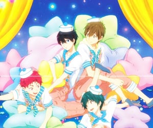 anime, free!, and makoto tachibana image