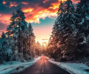 landscape art, nature, and snowy image