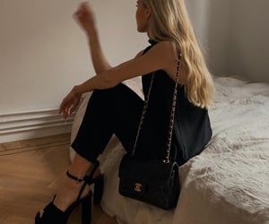 black, blogger, and chanel image