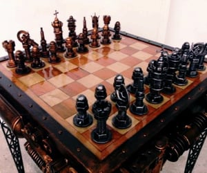 chess and steampunk image