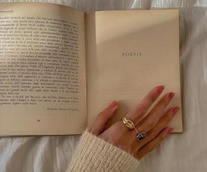 book, aesthetics, and jewelry image