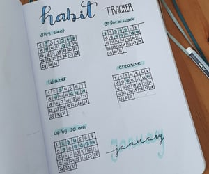 bullet, Habit, and journal image