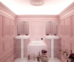 high-tech, pink, and powder image