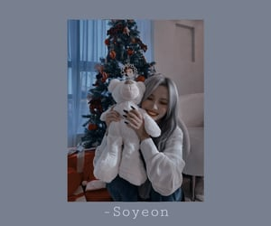 soyeon, aesthetic, and happy new year image
