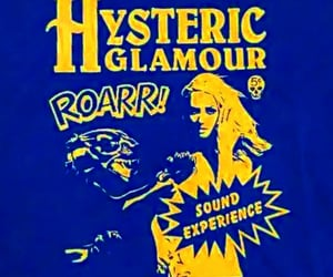 blue, hysteric glamour, and roar image