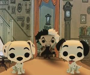 dalmatians, cruella de vil, and disney image