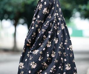 etsy, flower dress, and winter clothes image