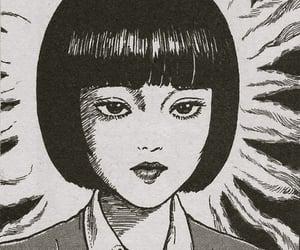 manga, junji ito, and uzumaki image