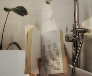 books and bathroom