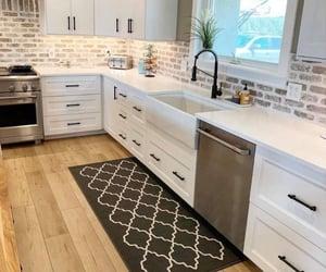 rustic kitchen, kitchen inspo, and farm kitchen image