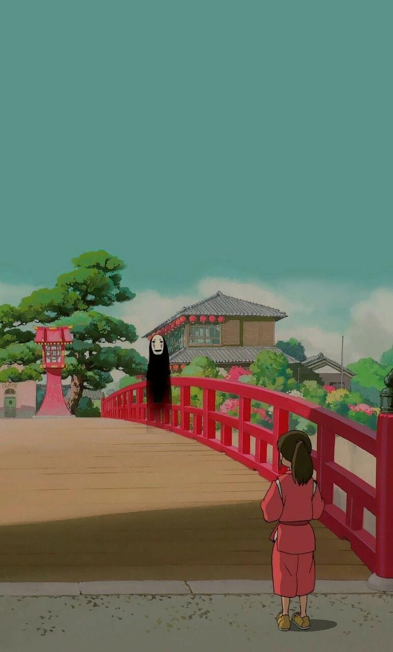 japanese, princess mononoke, and spirited away image