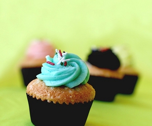 candy, cupcakes, and food image