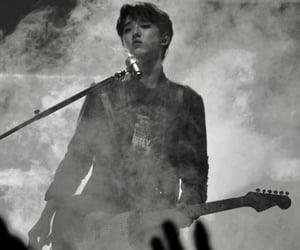 black and white, day6, and Jae image