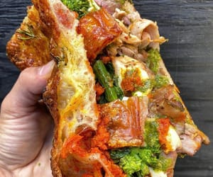 grilled cheese, provolone, and salsa verde image