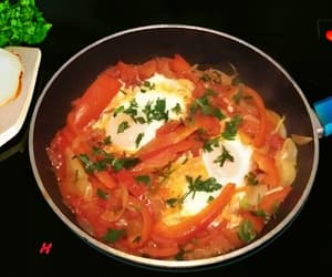 Turkish One-Pan Eggs & Red Peppers Recipe