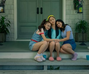 lana condor, janel parrish, and netflix image
