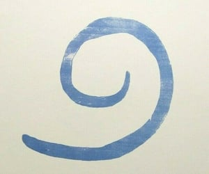 blue, spiral, and twt image