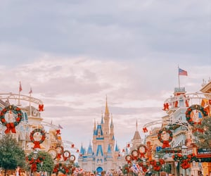 aesthetic, christmas, and disney image
