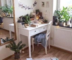 room, plants, and home image