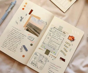 journal, journaling, and bujo image