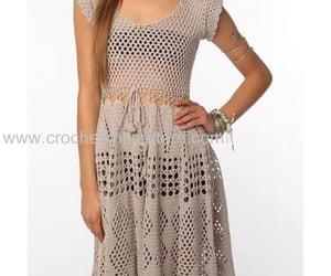 beautiful dress, diy, and handmade image