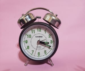 amateur, clock, and green image