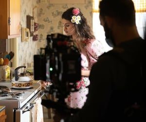 behind the scenes, music, and selena gomez image