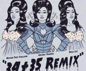 Ariana Grande X 34+35 Remix with Doja Cat & Megan Thee Stallion