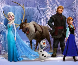 animation, elsa, and frozen image