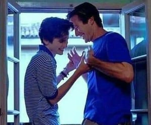 oliver, elio, and call me by your name image